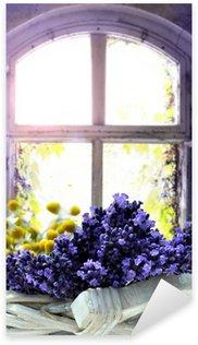 Sticker Pixerstick Lavendel