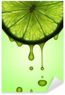 Sticker - Pixerstick lemon juice
