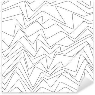Sticker Pixerstick Lignes minimales de répétition sans soudure strpes abstraites papier textile modèle de tissu