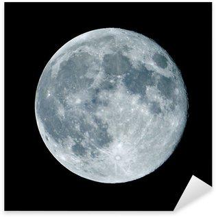 Sticker - Pixerstick Lune de nuit nocturne