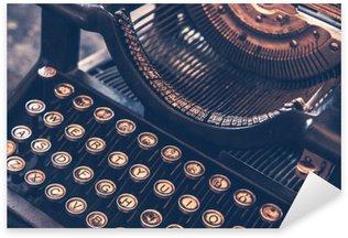 Sticker Pixerstick Machine à écrire antique