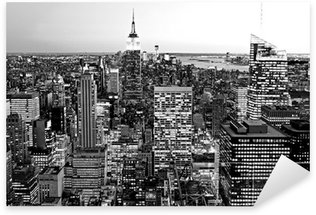 Sticker Pixerstick Manhattan, New York City, USA