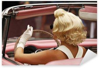Sticker Pixerstick Marilyn monroe