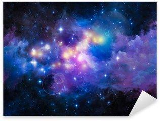 Metaphorical Nebula Sticker - Pixerstick