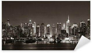 Midtown Manhattan skyline Sticker - Pixerstick