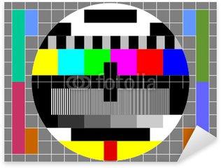 Mire TV format 4/3 Sticker - Pixerstick