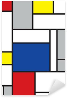 Pixerstick for All Surfaces mondrian inspired art