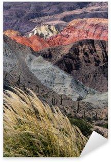 Sticker Pixerstick Montañas en Salta, Argentine