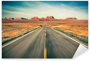 Sticker Pixerstick Monument Valley