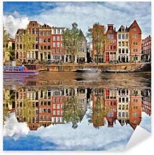 Pixerstick Sticker Mooie Amsterdam, Holland