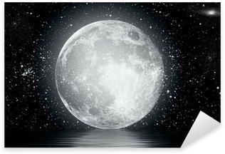 Sticker - Pixerstick moon