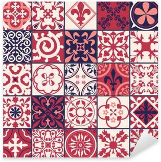 Pixerstick for All Surfaces Moroccan tiles Pattern
