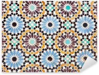 Sticker Pixerstick Mosaïque islamique