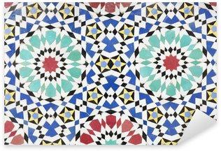 Sticker Pixerstick Mosaïque marocaine