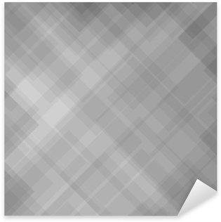 Sticker Pixerstick Motif abstrait gris
