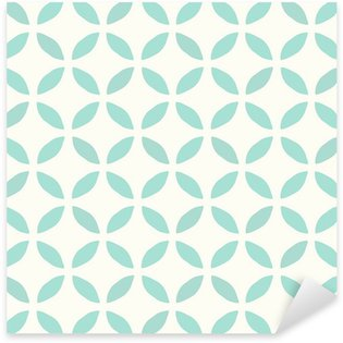 Sticker Pixerstick Motif continu. Dessiné main. Fleur. Background design