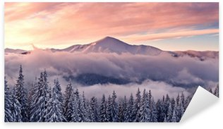 Sticker - Pixerstick mountain