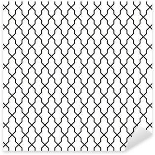 Pixerstick Sticker Naadloze vintage behang textuur Achtergrond van het Patroon