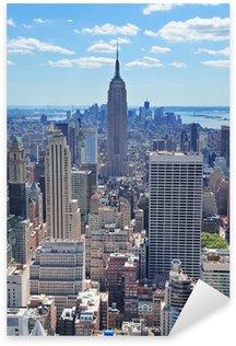 Sticker - Pixerstick New York City Empire State Building