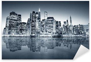 Sticker Pixerstick New york manhattan
