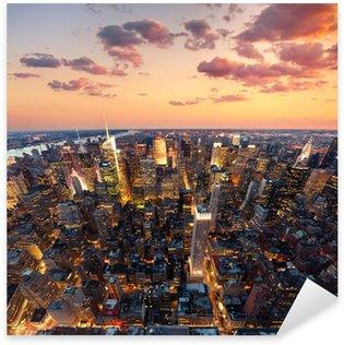 New York Sticker - Pixerstick
