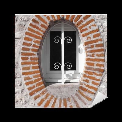oeil de boeuf fen tre sticker pixers we live to change. Black Bedroom Furniture Sets. Home Design Ideas