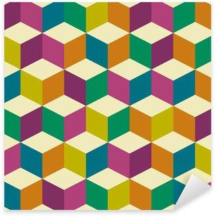 Pixerstick Sticker Optische zeventig nar