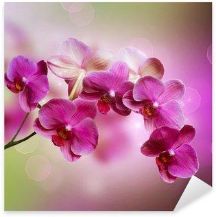 Sticker Pixerstick Orchidée