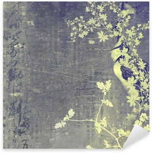 Sticker Pixerstick Oriental background
