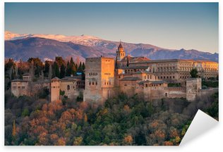 Sticker Pixerstick Palais de l'Alhambra, Grenade, Espagne