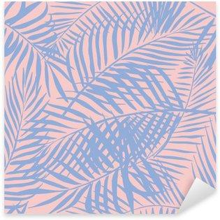 Pixerstick Sticker Palm patroon