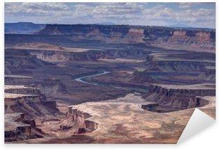Sticker Pixerstick Paysage du Parc National Canyonlads