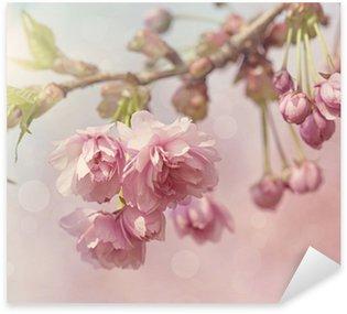Pink cherry blossom tree Sticker - Pixerstick