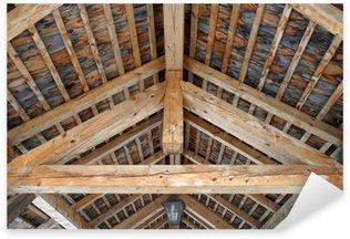 Sticker Pixerstick Plafond en bois.