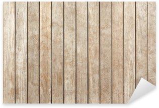 Sticker Pixerstick Plancher bois brut