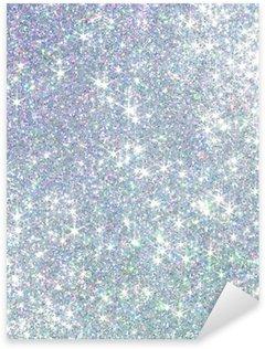 Polarization pearl sequins, shiny glitter background Sticker - Pixerstick