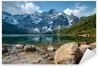 Sticker - Pixerstick Polish Tatra mountains Morskie Oko lake