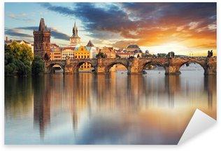Sticker Pixerstick Pont Charles, République tchèque - Prague