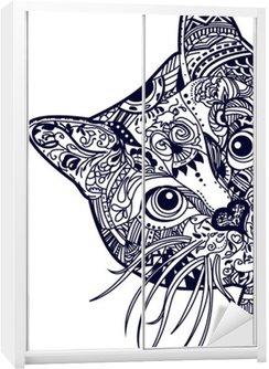 Sticker pour Armoire Cat