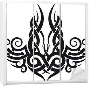 motif tribal tatouage elegant tatouage temporaire tour de. Black Bedroom Furniture Sets. Home Design Ideas