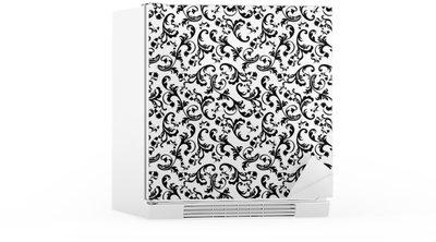 papier peint frigo sticker pour frigo motif de cactus dans le style duaquarelle with papier. Black Bedroom Furniture Sets. Home Design Ideas