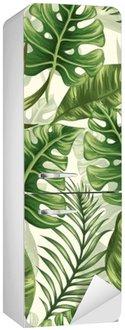 Sticker pour Frigo Leaves pattern
