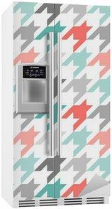 Sticker pour Frigo Poule, seamless, coloré