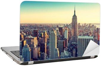 Sticker pour Ordinateur Portable City new york