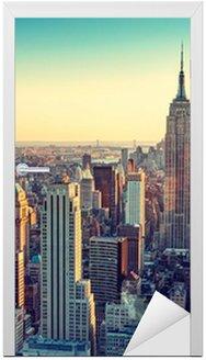Sticker pour Porte City new york