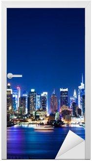Sticker pour Porte New York, Manhattan