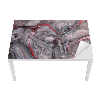 Sticker pour Table et Bureau Abstrait de la peinture