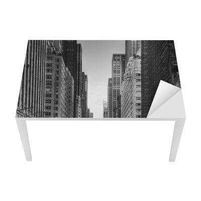 Sticker pour Table et Bureau Avenue des taxis with à New York.