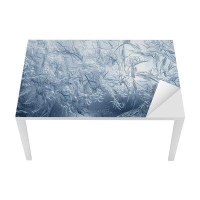 Sticker pour Table et Bureau Frosty motif fin de la nature