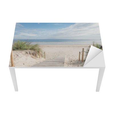 Sticker pour Table et Bureau Un chemin vers la plage